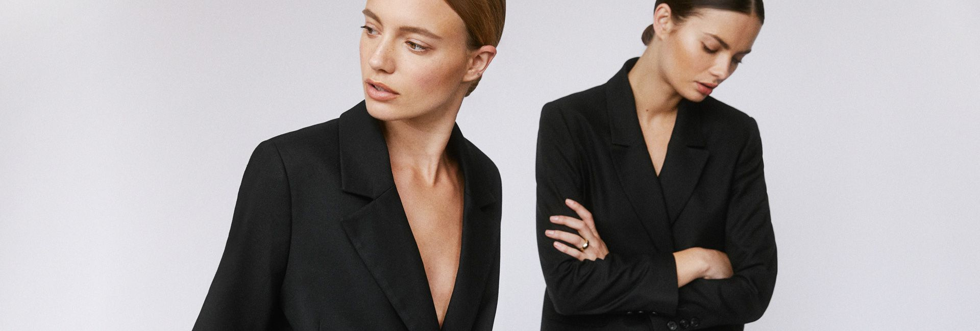 Model wearing black Anine Bing clothes